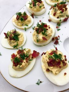 Bacon Jalapeno Deviled Egg