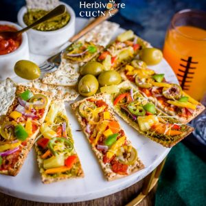 Super Easy Flat Bread Pizza