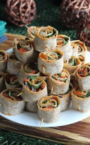 Spicy Tortilla Rollups