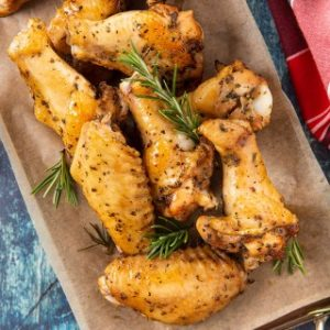 Honey Mustard Soy Sauce Chicken Wings