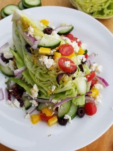 Greek Wedge Salad