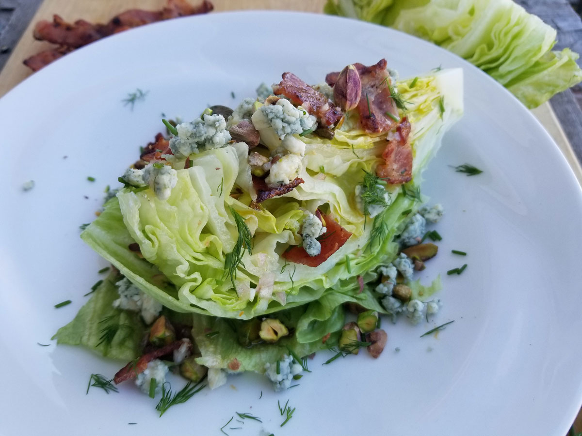 Wedge Salad with Bacon
