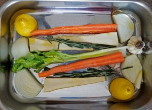 The vegetable roasting rack
