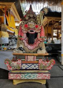Temple at Goa Gajah