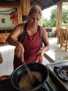 Here I am cooking away