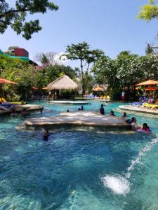 The main pool at Waterbom