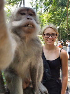 Monkey Forest Selfie