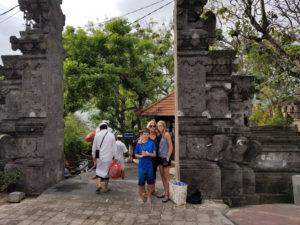 Entrance to Padang Padang Beach