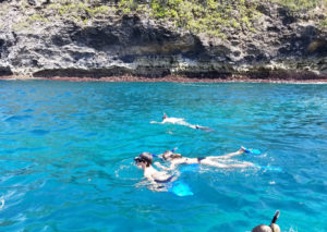 Snorkeling near Nusa Penida