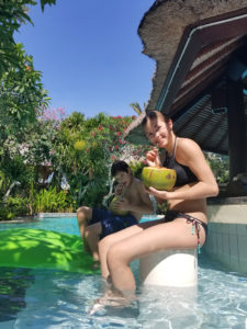 Grand Mirage Resort Swim Up Bar