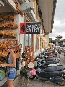 Ubud Art Market Entry