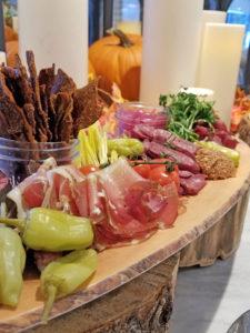 Food at Pomeroy Kananaskis Lodge