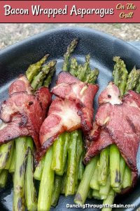 Bacon Wrapped Asparagus On The Grill
