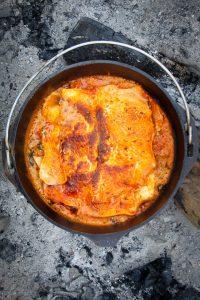 Campfire Vegetarian Lasagna