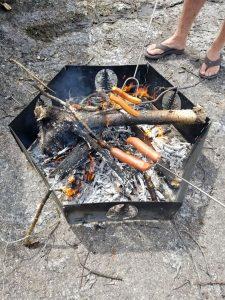 Portable Campfire Ring