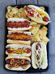 Gather your friends and prepare a Grilled Sausage Bar
