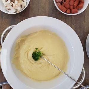 maple cheese fondue