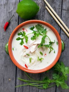 Thai Turkey Coconut Soup