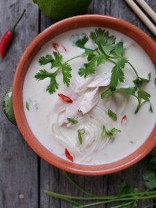 Thai Turkey Coconut Soup