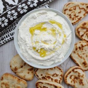 creamy whipped feta
