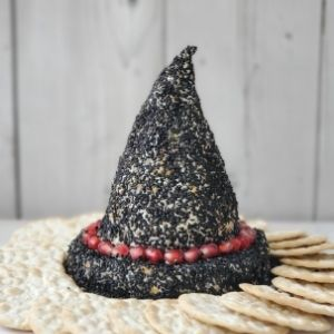 witches hat cheese ball